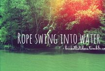 BUCKET LIST! / Got the idea for this from a fellow pinner ^.~