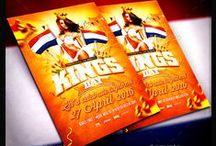 King's Day Koningsdag Flyer Templates / King's Day Koningsdag Flyer Templates