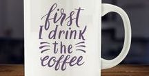Coffee Lovers / A selection of coffee lover/caffeine addict gifts and ideas