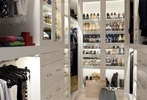 closet design / Closet Ideas and Inspiration