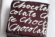 Chocolate ♥ / Interesting ideas to create chocolate everything!
