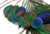 Polymer Clay Barrettes