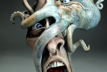 Cool Face Jugs/Pottery / Addicted! / by Lorraine DiMarzio