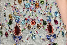 Dazzling Details❣ / beading, sequins, designs, adornments, etc...  / by jade leigh