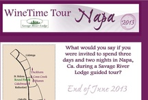 WineTime Tour: Napa Valley / The details of our WineTime Tour: Napa Valley, 2013 trip coming up in June of 2013!