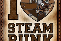 """Steam / Steampunk is a sub-genre of science fiction that typically features steam-powered machinery,[1] especially in a setting inspired by industrialized Western civilization during the 19th century. Therefore, steampunk works are often set in an alternative history of the 19th century's British Victorian era or American """"Wild West"""", in a post-apocalyptic future during which steam power has regained mainstream use, or in a fantasy world that similarly employs steam power. (wikipedia for more) / by Sarah Ultis"""