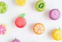 Colourful Summer Baking ♥ / Fun Summer colours and bright baking ideas!
