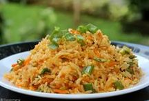 Rice Recipes / A collection of gloriously delicious, starchy Rice recipes from around the world!