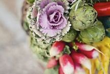"""Farm to Table / Here is some inspiration for a Farm to Table wedding.  Not """"Rustic"""" per se, but local, organic and simple elements to make for a beautiful eco-conscious wedding."""