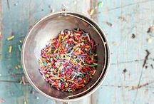 Sprinkles ♥ / Confetti, Crystals, Nonpareils and Birthday Sprinkles