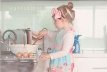 Baking with Kids ♥ / Gorgeous photos of kids-a-baking!