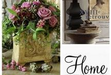 My own collages of home decoration / by Linda  Bell