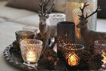 Autumn Ideas / Outside wet and cold. Inside warm and cozy!