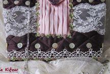 Mes réalisations / Toutes mes réalisations broderie, couture, tricot, crochet et autres, d'après des modèles ou selon mes créations personnelles