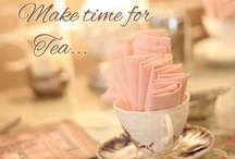 ❀ Tea time / #tea   Tea party! Yes, you're invited! Tea Party Ideas. Be my guest! ♔  Tea Time Treats