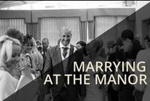 Marrying at the Manor / Our range of spaces offer versatile solutions for any type of event. Our dedicated team of professionals is at your service to help plan and ensure the smooth running of all events. We can cater for up to 200 guests in the ballroom.