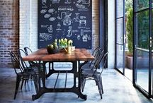 Dining Room / Are you looking for your dinging room? This wall is meant to inspire you.