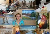 eigen werk / Aquarel, acryl en potloodtekeningen. www.a-schermer-folkertsma.exto.nl