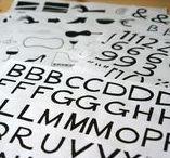 My Typefaces / Type design by Julia Bausenhardt.