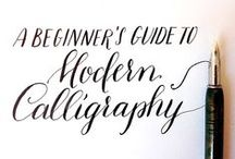 Calligraphy Blog Posts / Julia Bausenhardt Blog Posts - Read new articles on Calligraphy, Lettering and Creativity every week.