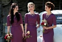 Bridesmaid dresses / Don't compromise on your bridesmaid dresses, find the perfect gowns and feel perfectly content :)