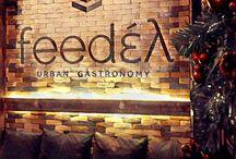 Feedέλ Feedel Greek gastrobar / Gastronomy gastronomic gastronome