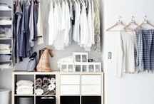 Wardrobe TLC & inspiration! / Storage, how to look after different fabrics and more...
