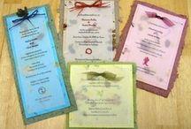 Eco-Friendly Wedding Invitations / by Ecoura Jewelry
