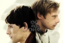 """Merlin: King & Lionheart / """"And as the world comes to an end I'll be there to hold your hand 'cause you're my King and I'm your Lionheart."""" / by Eden Lapsley"""