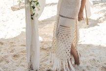 Crochet woman.