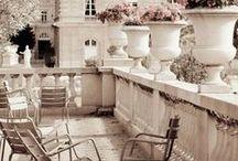 terrazas, balcones, patios....