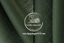 Tejidos / Nuevos tejidos colección López Aragón