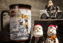 Tricked Out Trimmings / Harley-Davidson Holiday Collectibles | Shop Harley For Badness Sake  / by Harley-Davidson
