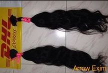 Natural hairs / Arrow Exim leading company; offering a premium range of Human Hair such Single Drawn Human Hair, Double Drawn Human Hair, Human Hair Extensions, Curly Hair, Remi HumanHair, Machine Weft, Hand Weft, Micro Weft, Keratin Hair Extension, Pre Bonded Hair, Virgin Hair, etc...