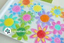 Jarní tvoření / Nápady na jarní kreativní tvoření