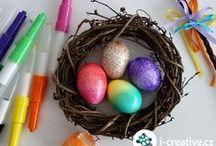 Velikonoce / Nápady na velikonoční kreativní tvoření