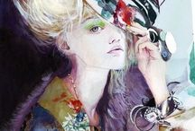Fashion - illustration / There. Fashion illustration beautiful examples. / by Glasspetal