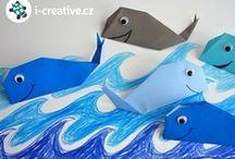 Letní tvoření / Nápady na letní kreativní tvoření
