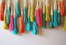 Tassels / Ideas for C&G Embroidery