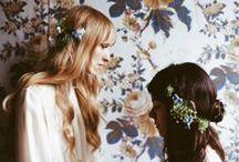 BOHO wedding headdress / I will collect the head dress adult stylish want to attach. #wedding headdress#wedding hair #boho #boho wedding #bohemian #bohemian wedding #vintage wedding #おしゃれなウェディングヘッドドレス #洗練されたウェディング #大人のウェディングヘアドレス #ウェディングヘア #髪飾り