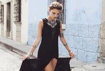 BOHO fashion dress