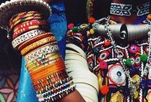 Native material  India / #Traditional costume #vintage costume #india