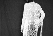 BOHO gown / シルクガウン