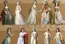 история костюма.  XIII-XIX век