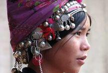 Native material  Asia / アジア 民族衣装  China,Thailand,Vietnam,Tibet,Laos