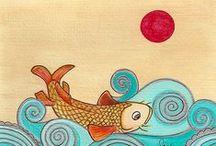 Fish art - Balıkçıklar