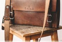 The Loyal Workshop leather products / Original range of leather satchels and accessories.