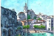 Sketching/Urban Sketching/