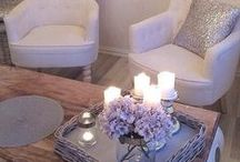 Lavender & Gray Inspiration / Lavender Gray Color inspiration for your home decor, bedding sets and women's sleepwear.