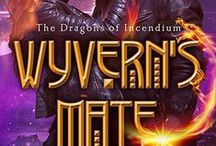 Dragons of Incendium / Deborah Cooke's paranormal romance series featuring dragon shifter princesses from space.